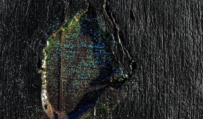 black:etched